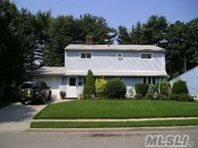 Hicksville Single Family Home For Sale: 46 Grape Ln
