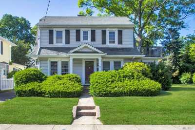 Westbury Single Family Home For Sale: 215 Castle Ave