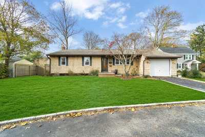 Sayville Single Family Home For Sale: 274 Lakeland Ave