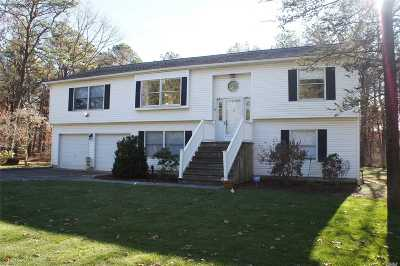 Manorville Single Family Home For Sale: 410 Chapman Blvd