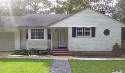 Huntington Single Family Home For Sale: 229 Manor Rd