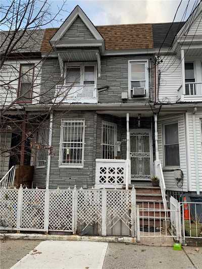 Brooklyn Single Family Home For Sale: 923 Belmont Ave