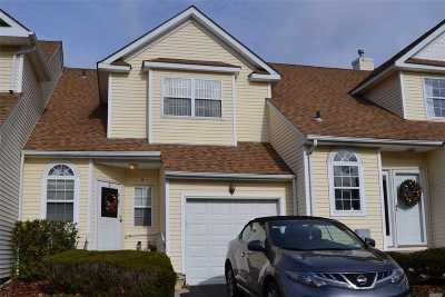 Melville Condo/Townhouse For Sale: 3 Blueberry Ct