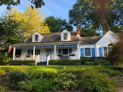 Oyster Bay Single Family Home For Sale: 794 Connecticut View Dr