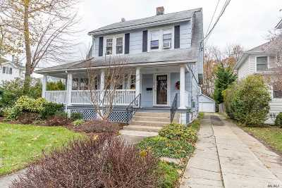 Rockville Centre Single Family Home For Sale: 66 Liberty Ave