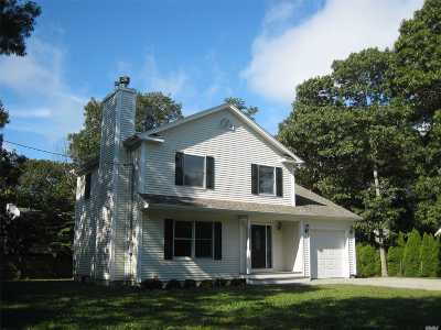 Hampton Bays Single Family Home For Sale: 6 Elm St