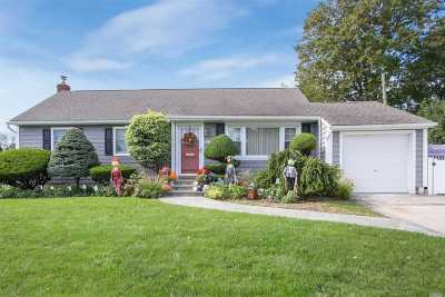 Wantagh Single Family Home For Sale: 1500 Crown St