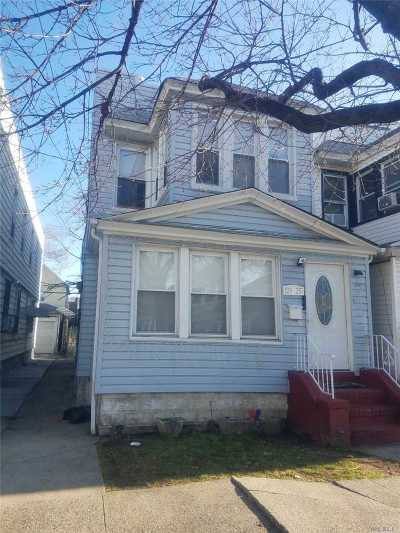 Ozone Park Multi Family Home For Sale: 103-25 106 Street
