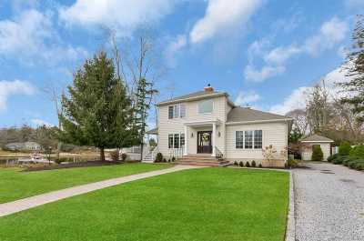 Center Moriches Single Family Home For Sale: 45 Inwood Rd
