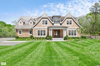 Sagaponack Single Family Home For Sale: 249 Toppings Path