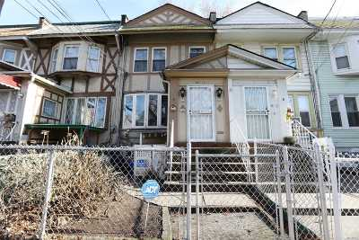 Woodhaven Single Family Home For Sale: 88-11 88th St