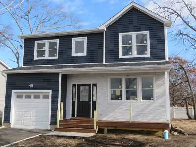 Copiague Single Family Home For Sale: Lot #2 Prince Chico St