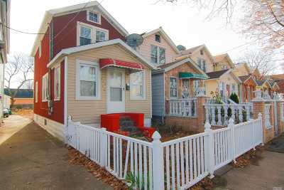 Ozone Park Single Family Home For Sale: 12712 116th Ave