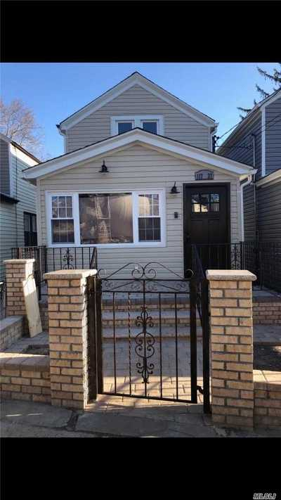 Jamaica Single Family Home For Sale: 117-37 142nd Pl