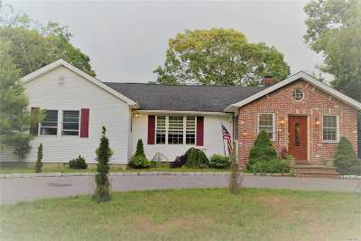 Center Moriches Single Family Home For Sale: 141 Belleview Ave