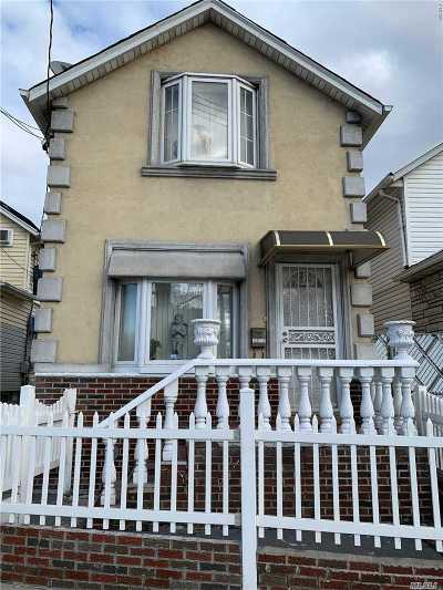 Ozone Park Single Family Home For Sale: 133-17 Crossbay Blvd
