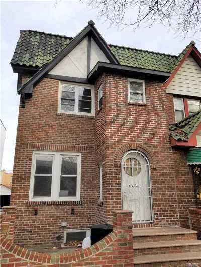 Jamaica Multi Family Home For Sale: 107-37 E Van Wyck Expy