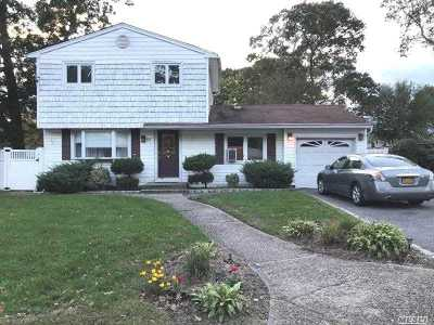 Selden Single Family Home For Sale: 60 Janice Ln