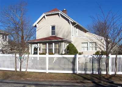 Bay Shore  Single Family Home For Sale: 25 Center Ave