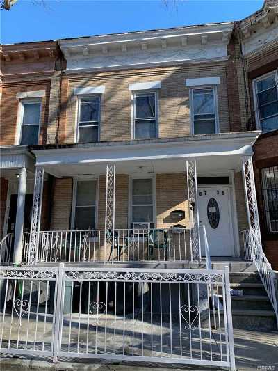 Woodhaven Multi Family Home For Sale: 87-35 86 St
