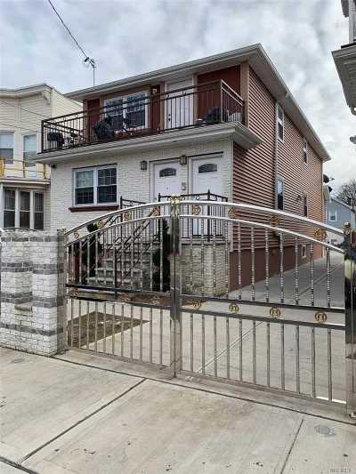 Queens Village, Briarwood, Bayside, Hillcrest, Jamaica Multi Family Home For Sale: 160-18 111 Ave