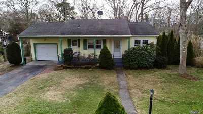 Hampton Bays Single Family Home For Sale: 10 Staller Blvd