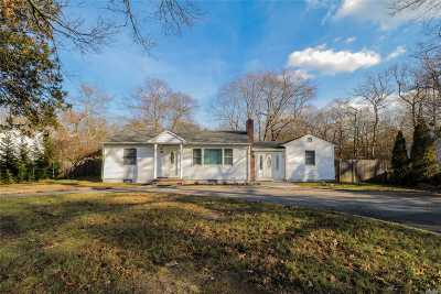 Middle Island Single Family Home For Sale: 83 W Bartlett Rd