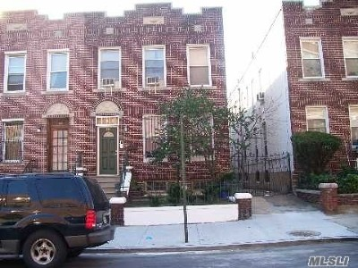 Brooklyn Multi Family Home For Sale: 333 Woodbine St