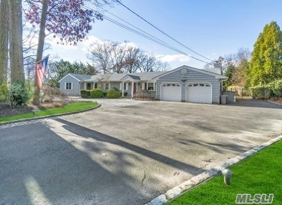 Smithtown Single Family Home For Sale: 12 Colonial Dr