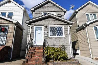 Ozone Park Single Family Home For Sale: 84-19 Sutter Ave