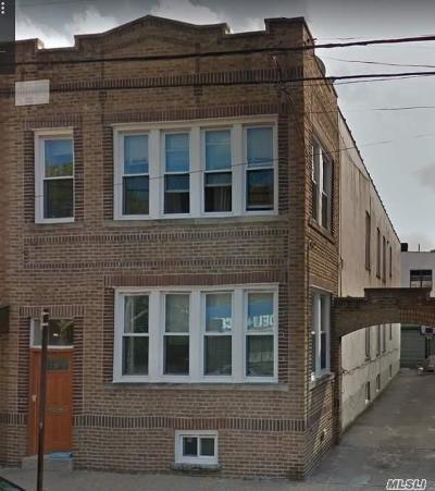Ridgewood Multi Family Home For Sale: 60-22 Bleecker St
