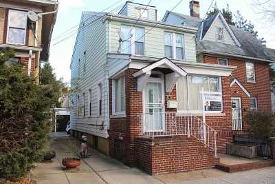 Woodhaven Single Family Home For Sale: 85-59 79 St