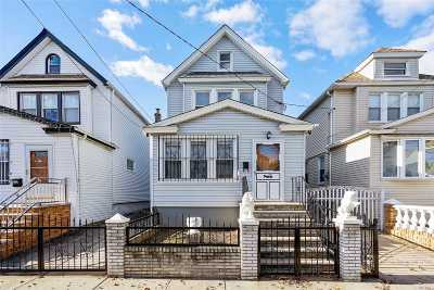 Kew Gardens, Richmond Hill Single Family Home For Sale: 107-24 114th St