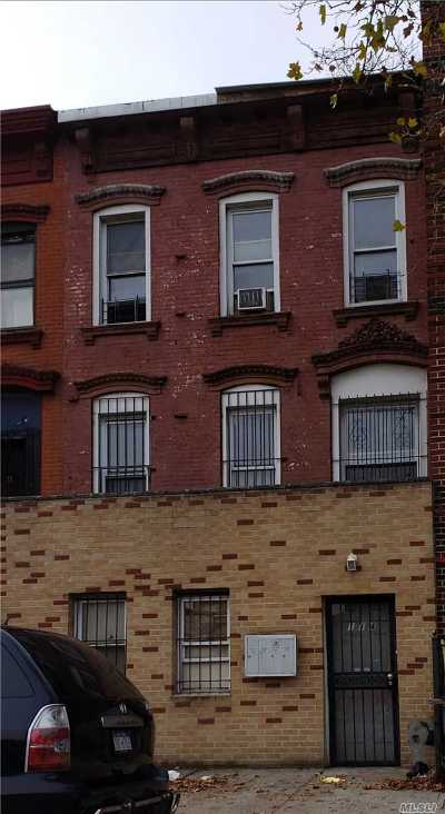 Brooklyn Multi Family Home For Sale: 114 Patchen Ave