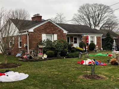 N. Babylon Single Family Home For Sale: 12 Hunter Ave