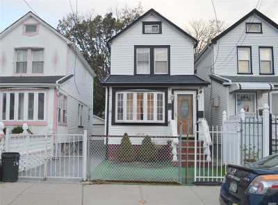 Jamaica Single Family Home For Sale: 117-13 140th St
