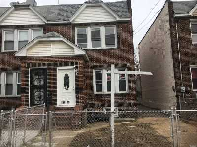 Jamaica Single Family Home For Sale: 119-23 145th St