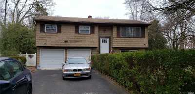 Central Islip  Single Family Home For Sale: 27 Myrtle Ave