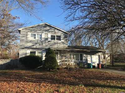 Patchogue Single Family Home For Sale: 49 Tremont Ave