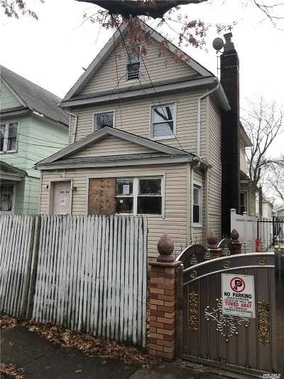 Jamaica Single Family Home For Sale: 109-44 157th St