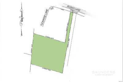 Southampton Residential Lots & Land For Sale: 50 Rosko Lane