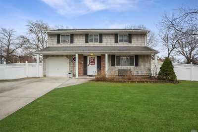 Central Islip  Single Family Home For Sale: 183 Bark Ave