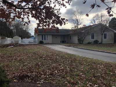Coram Single Family Home For Sale: 8 Edieann Ct