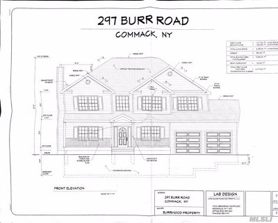 E. Northport Single Family Home For Sale: 297 Burr Lot 2 Rd