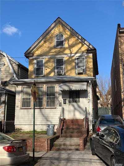 Elmhurst Single Family Home For Sale: 92-27 55 Ave