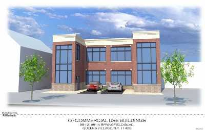 Queens Village Residential Lots & Land For Sale: 98-12 Springfield Blvd
