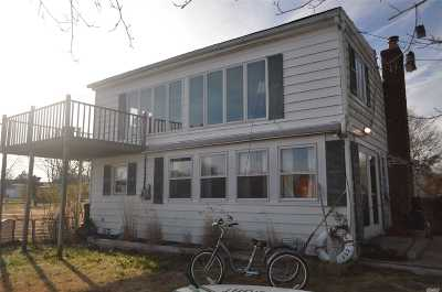 Center Moriches Single Family Home For Sale: 14 Lakeview Pl