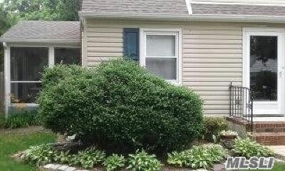 Huntington Rental For Rent: 5 Waywood Pl #1st Fl