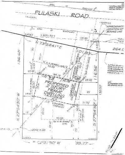 Huntington Residential Lots & Land For Sale: E Pulaski Rd