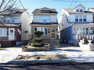 Ozone Park Single Family Home For Sale: 137-38 94th St